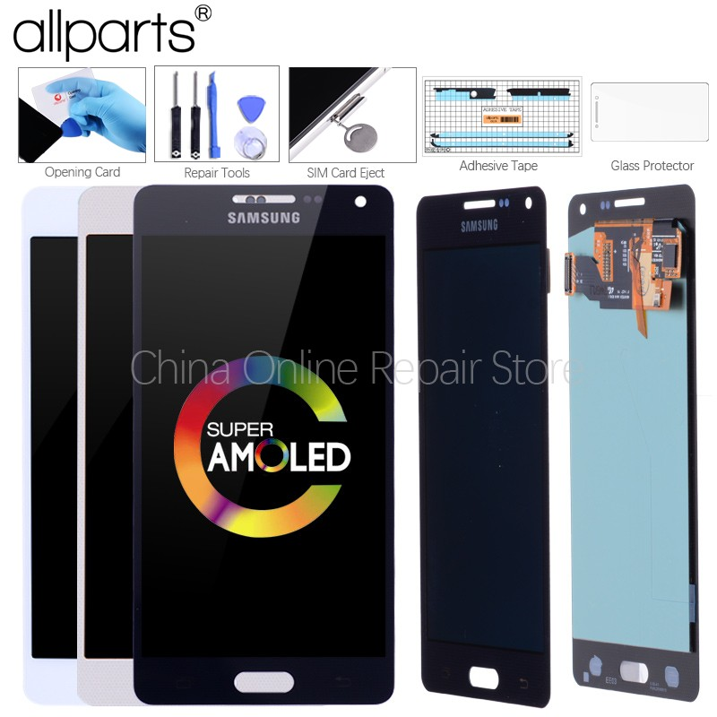 Original AMOLED LCD für SAMSUNG Galaxy A5 2015 Display Touchscreen Ersatz Für SAMSUNG Galaxy A5 A500FU A500 A500F A500M