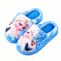 Children Slippers Anna Elsa Shoes for Girls Baby House Shoes Kids Winter Slippers Mother Daughter Shoes home Slippers Plus size