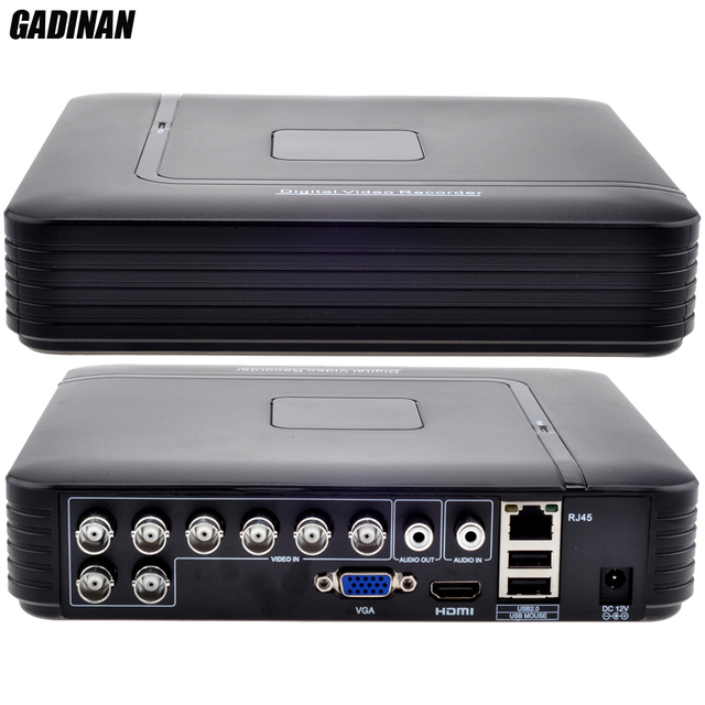GADINAN AHD-NH 1080N H.264 8CH HDMI Sistema de Seguridad CVI TVI AHD Mini DVR Para CCTV Kit DVR de 8 Canales 1080 P 960 H 15fps DVR Mini