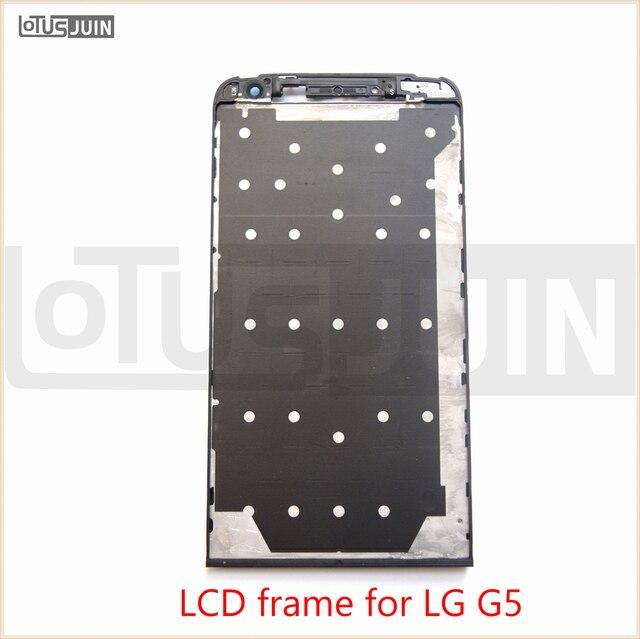1 шт. Новый ЖК Лицевая Панель Передняя Корпус Рамка Рамка Кронштейн для Lg G5