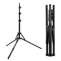 Tripod Light Stand &1/4 Screw portable Head Softbox For Photo Studio Photographic Lighting Flash Umbrellas Reflector