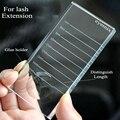 Eyemix 2-In-1 Eyelash Extensions Crystal Glass Adhesive Glue Pallet New Ceramic Lash Tiles Individual Eyelash Extension Holder