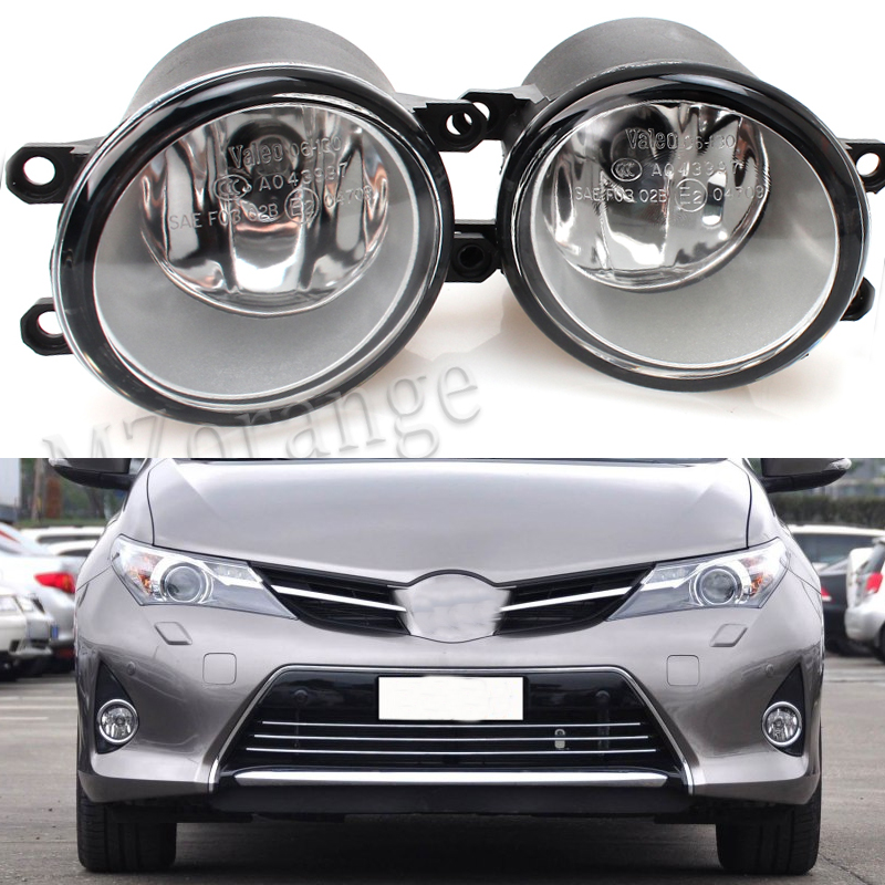 For toyota AURIS 2007+ Car Styling Front Bumper Fog Lamps Original Fog Lights 1 Set (Left + right) 2 pcs set car styling front bumper light fog lamps for toyota venza 2009 10 11 12 13 14 81210 06052 left right