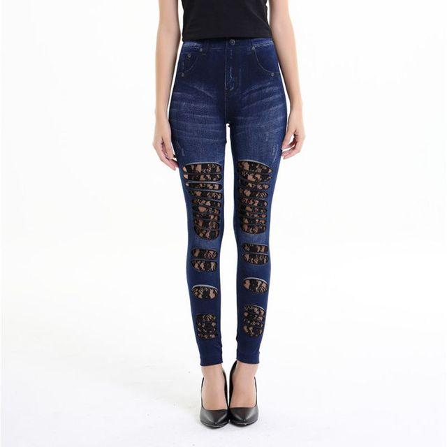 2018-rue-nouveau-patchwork-faux-jeans-leggings -gothique-dentelle-florale-et-tissu-en-denim-d-chir.jpg 640x640.jpg 0042b475ed8