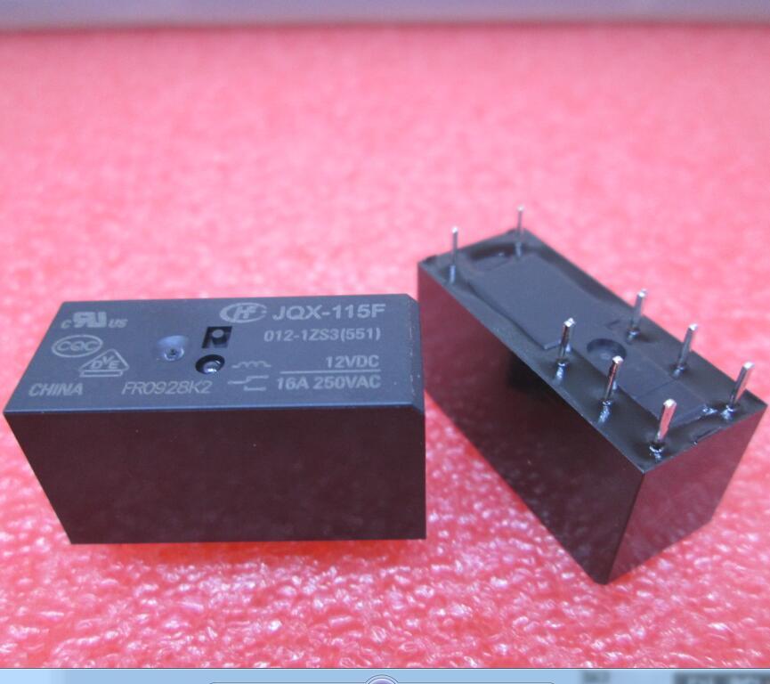 NEW relay HF115F 012-1ZS3 JQX-115F 012-1ZS3 HF115F-012-1ZS3-12VDC JQX-115F-012-1ZS3 12VDC DC12V 12V 16A 250VAC DIP8 10pcs ad705jn dip8 new
