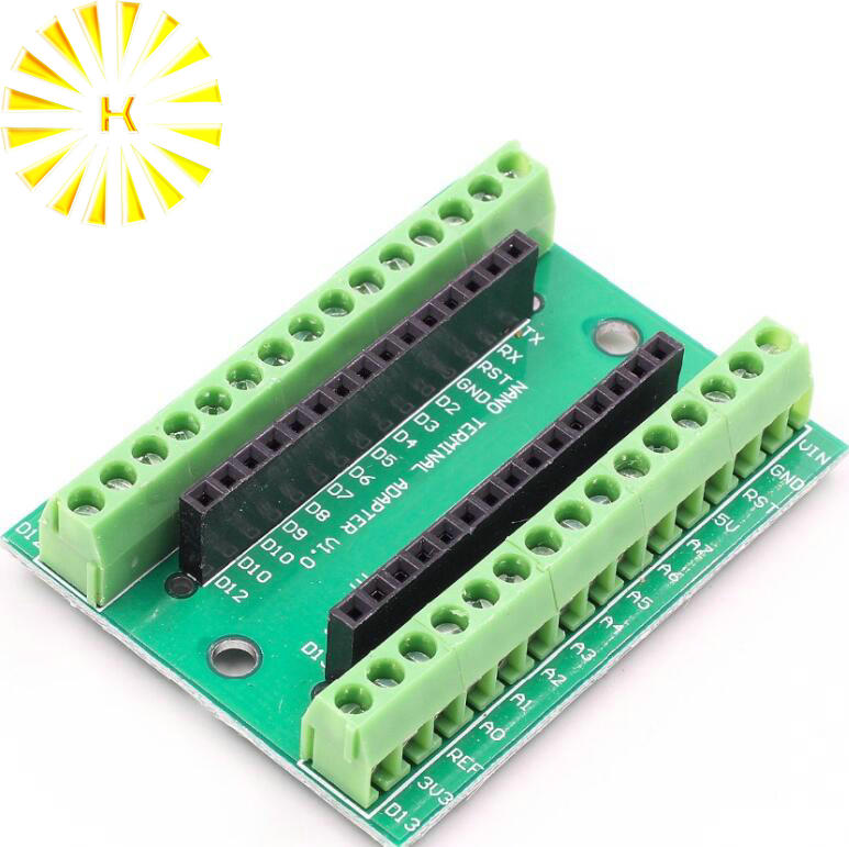 Nano Terminal Expansion Board Terminal Adapter IO Shield V3.O For Arduino NANO