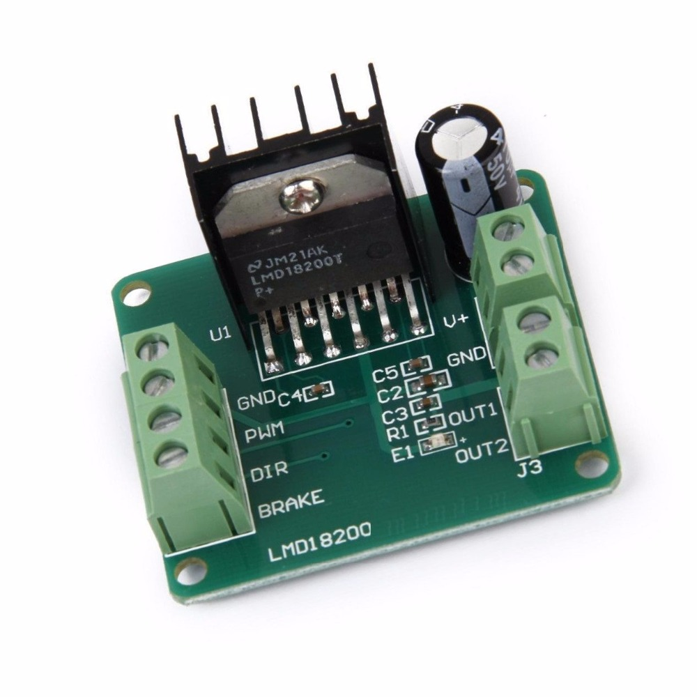 PWM Adjustable Speed LMD18200T Motor Driver Controller Module For Arduino Robot freeshipping dc motor speed regulator pwm adjustable voltage stability module