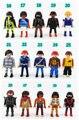 Grande 7 cm Puede ser seleccionado Playmobil figuras juguetes para niños 2016 Nueva Policía Playmobil Pirata Princesa acción minifigures modelo muñeca