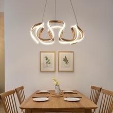 נברשת led מודרני אורות עבור hoome אוכל חדר סלון דקורטיבי מטבח מסעדה התלויה ממעל נברשות מנורה