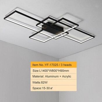 NEO GLeam New Black or White Aluminum Modern Led Chandelier For Living Room Bedroom Study Room AC85-265V Ceiling Chandelier 12