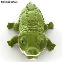 stuffed plush toy large 120cm cartoon crocodile plush toy green crocodile soft doll throw pillow toy birthday gift s0897