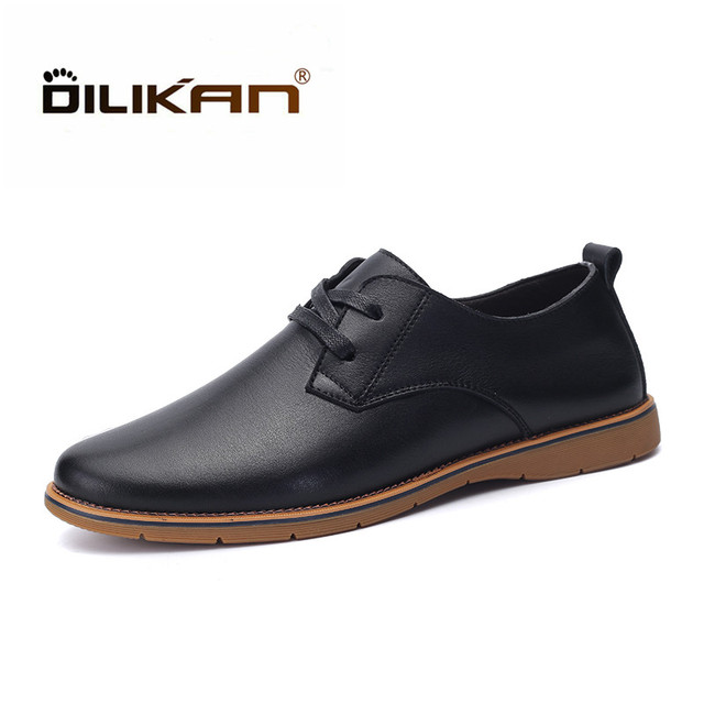 Men Anti-slip Breathable Outdoor Casual Leather Shoes limited edition sale online free shipping shop cheap buy find great online xXWWXEwdIa