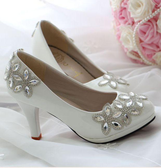 Online Get Cheap Low Heel Ivory Shoes Aliexpress