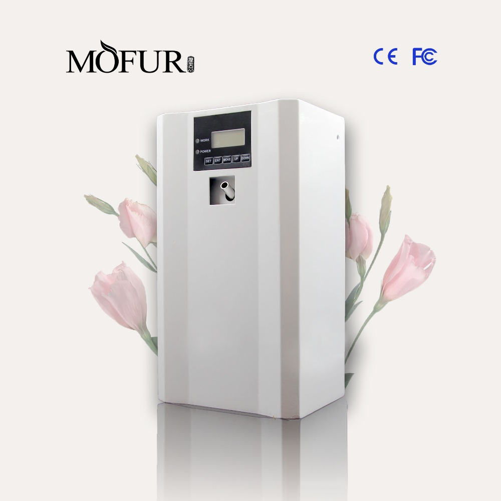 Aroma Machine 1,000m3, Fan dispenser, for spain 500ml cartridge Air purifier, electric scent fragrance machine 2 units/lot