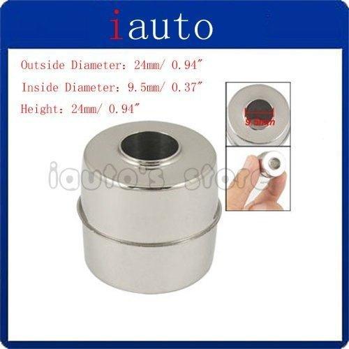 NEW Water Level Sensor Magnetic Stainless Steel Float Ball 9.5mm Inside Dia