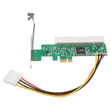 Newest PCI Express Riser Card PCI-E to PCI Adapter Card Asmedia 1083 Chipset Green AC385V Transition Card Avoid Driving Card