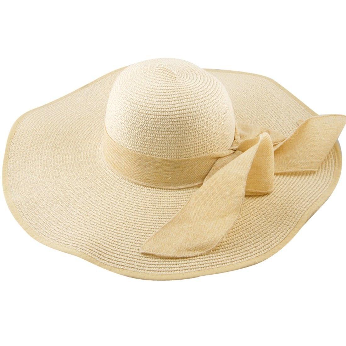 d121746e42c ⑦Womens Large Folding Wide Brim Floppy Fold Summer Beach Sun Hat ...