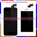 No Dead Pixel Black White For Iphone 5 5G Phone Full LCD Screen Display Digitizer With Touch Screen Complete Assembly + Frame