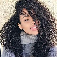 8A Grade 100% Brazilian Unprocessed Hair Virgin Human Hair Full Lace Wigs 130% Density kinky Curly Wigs In Stock Hot Hair