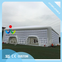 25X24X8M Outdoor four doors large display tent inflatable event marquee mix with two workmanship
