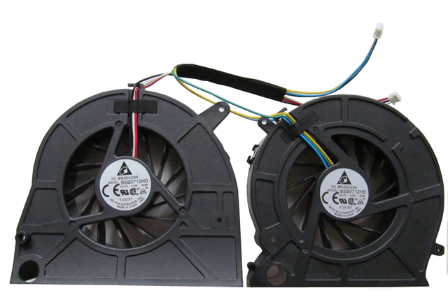 New cpu laptop cooler fan para lenovo b500 b505 b510 b50r1 b5r all-in-one cpu cartão fãs gráficos fã