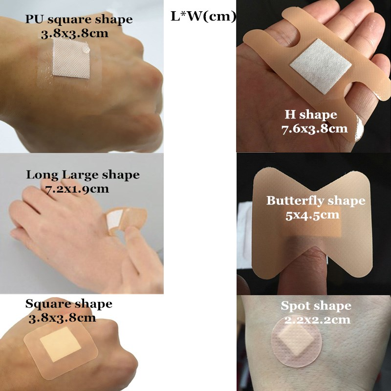 20/50 Pcs Waterproof Wound Adhesive Dressing Medical Anti-Bacterial Hemostasis Band-Aid For Home Travel Outdoor First Aid Kits