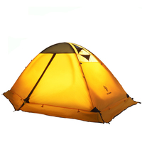 10407406af 2 Person 4 Season Camping Mountain Tent For Cold Weather Separated Double  Layer Backpacking Tent With. Tienda de montaña Camping 2 personas ...