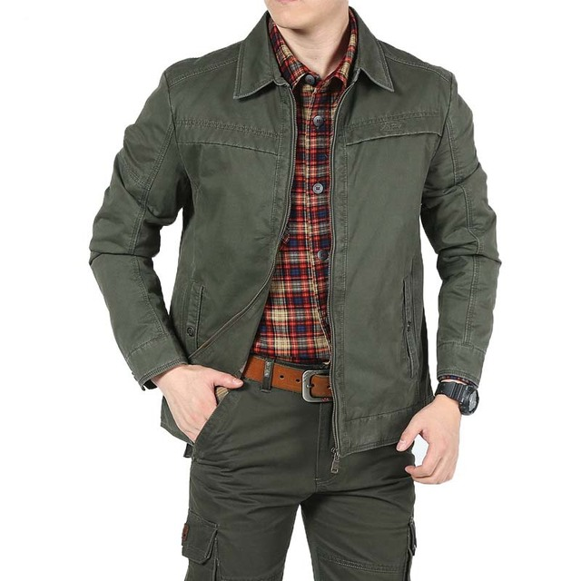 Big Size Men Smart Casual Jacket For Spring Autumn Winter Jackets