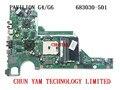 Original 683030-501 para hp pavilion g4 g6 series 683030-001 motherboard da0r53mb6e1 7670/1g mainboard 90 dias de garantia 100% testado
