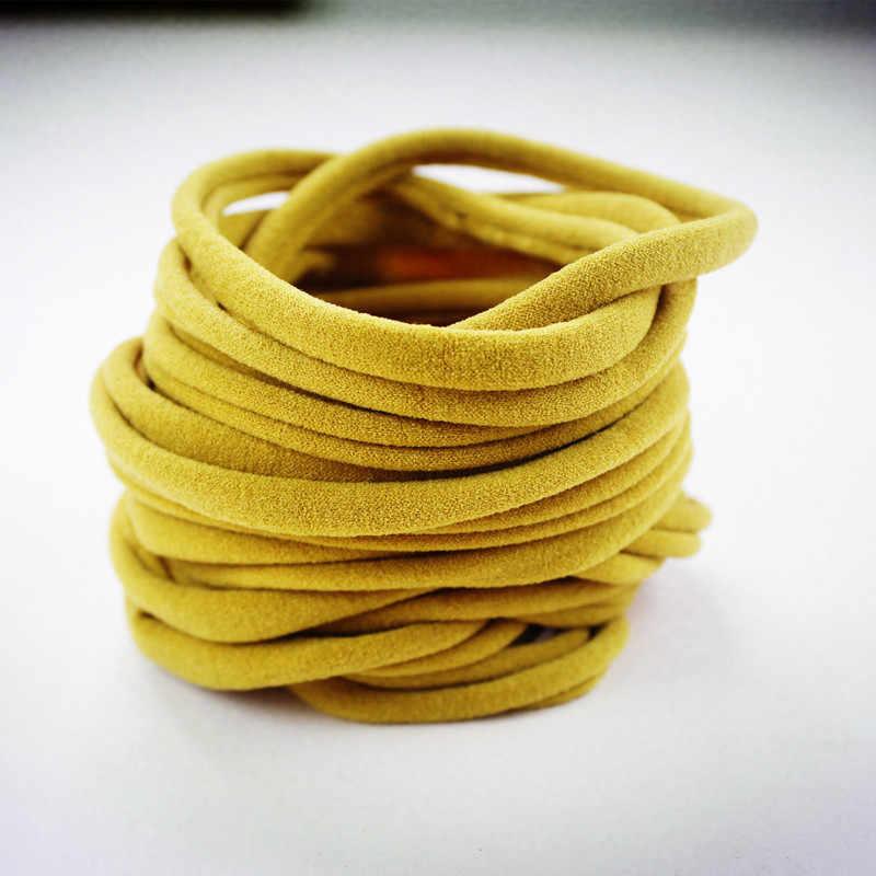 Bandas elásticas de Nylon para bebé, bandas elásticas de Nylon, bandas elásticas para bebés, bandas elásticas de Nylon, bandas elásticas para el pelo, bandas elásticas suaves HB388S