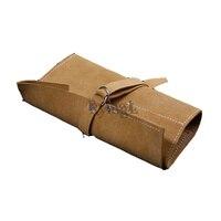# Bonsai Storage Package Roll Bag Garden Repair Tool Pliers Scissors Genuine Leather Tool Set Case Storage Bags