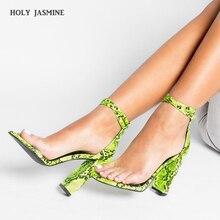 2019 New Women Sandals High Heels Summer Serpentine Heeled Shoes Platform Sexy Party Wedding Ladies Sandals Female Plus Size 41 все цены