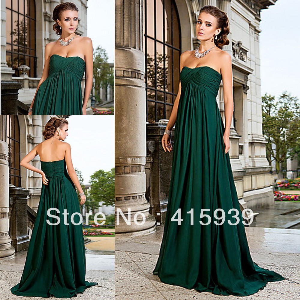 Free shipping costgemstone emerald green chiffon bridesmaid dresses gemstone emerald green chiffon bridesmaid dresses a line sweetheart ruffles vestidos madrina de boda largo in bridesmaid dresses from weddings events on ombrellifo Gallery