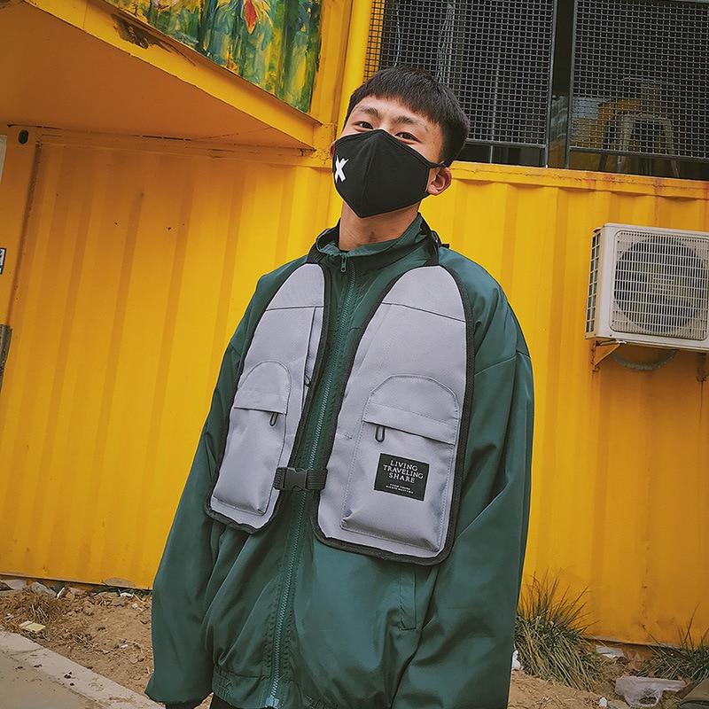 Honing 2019 Hip-hop West Street Ins Hot Stijl Borst Rig Militaire Tactische Borst Tas Functionele Pakket Prechest Zak Vest Zak