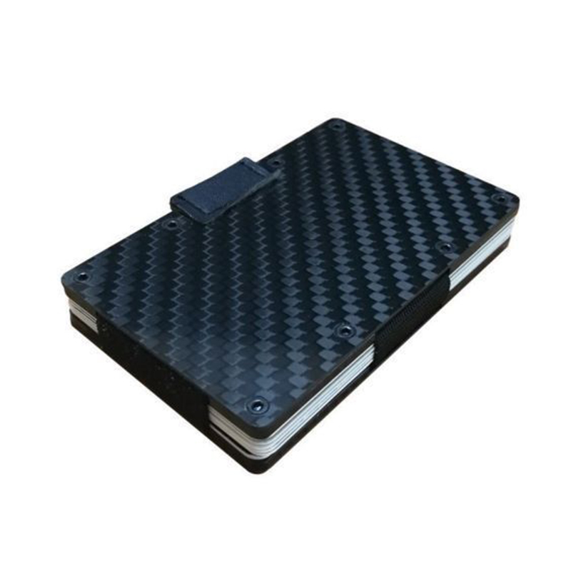 Sale The Ridge Wallet Carbon Fiber Money Clip Minimalist Front Pocket Slim