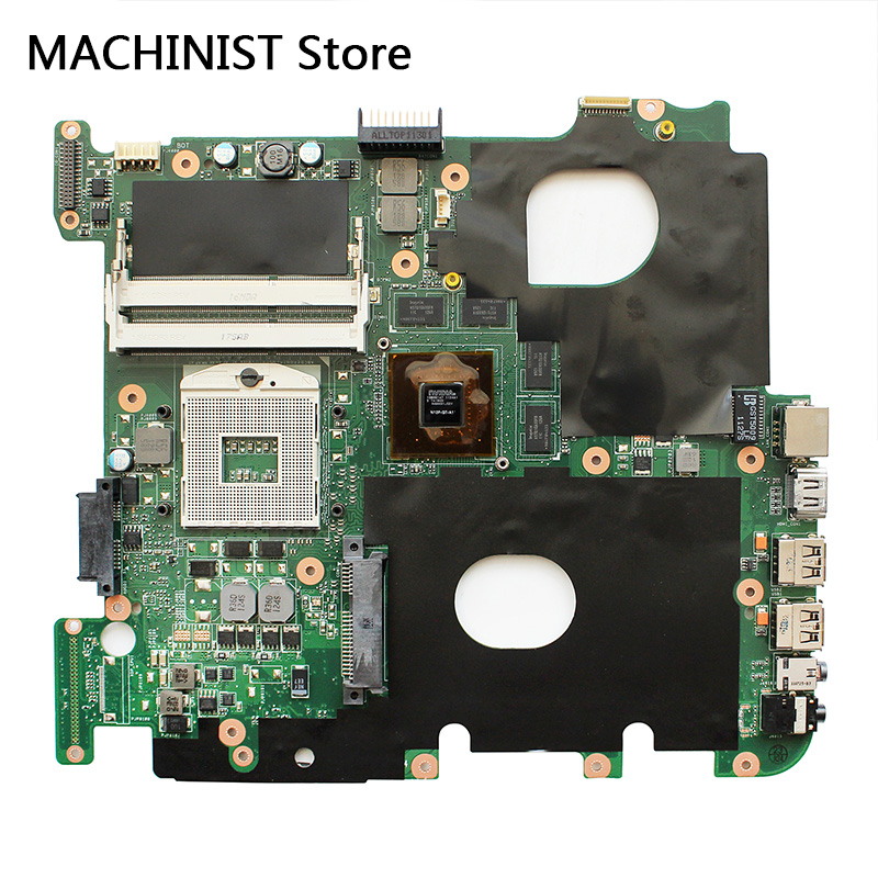 Original For ASUS N43S N43SN N43SM N43SL REV2.0 Laptop Notebook Motherboard HM65 DDR3 GT540/1G PGA989