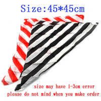 6pcs Zebra Magic Silk 45*45cm Magic Accessory Professional Magician Trick Magic Tricks Magic Prop