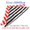 6pcs Silk Magic Tricks 45*45cm Zebra Magic Silk Magician Scarf Trick