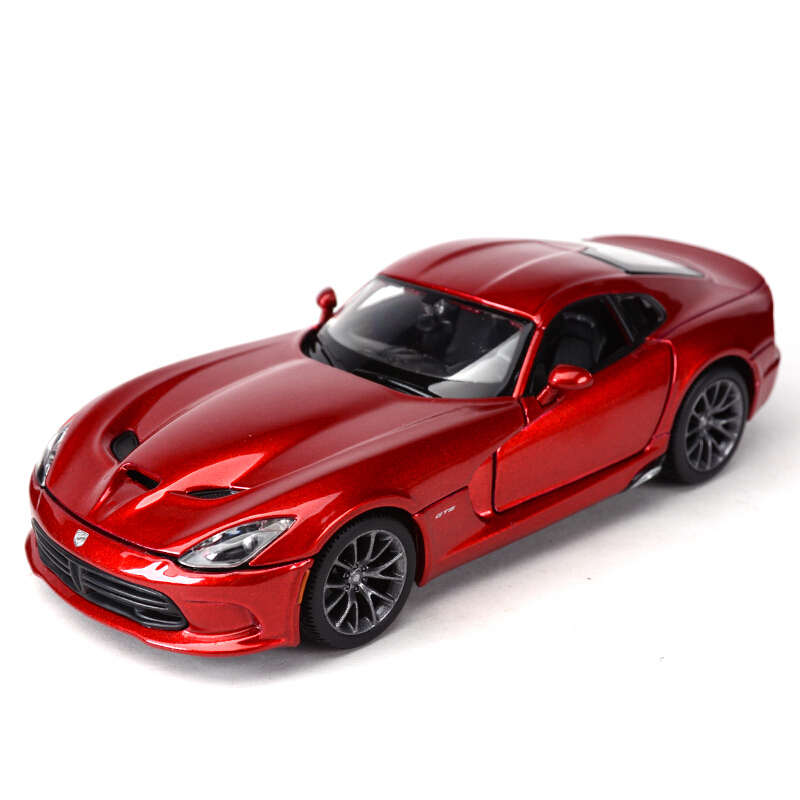 Maisto 1:24 Dodge SRT Viper GTS 2013 Diecast Model Car Toy Cars