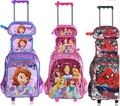 Children backpack with Wheels kids Trolley Bags For School Rolling backpack Bag For girl boy Travel Trolley luggage Backpack bag