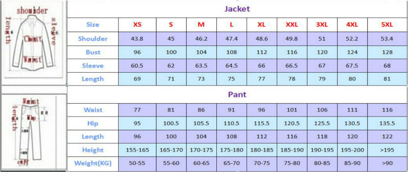 New Costume Fashion Formal Men Suit 2017 Mens Suits Wedding Groom Dress Plus Size With Pants Suits Jackets Red Clothing Set - 4
