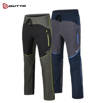 Outto men's Hiking Pants Summer Outdoor Sport Breathable Thousers Quick Dry Camping Fishing Waterproof Mountain Trekking Pant