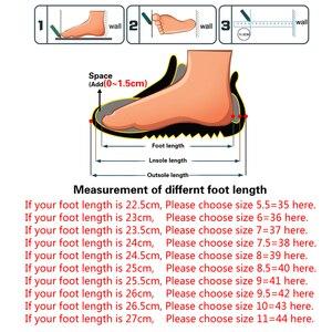Image 5 - FEVRAL zapatos de tejido hechos a mano para mujer, mocasín clásico, cómodos, sin cordones, planos, informales
