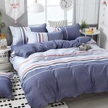 Funbaky jogo de cama de 3/4 pçs/set, conjunto de roupa de cama com revestimento de algodão, sem preenchimento tecidos domésticos