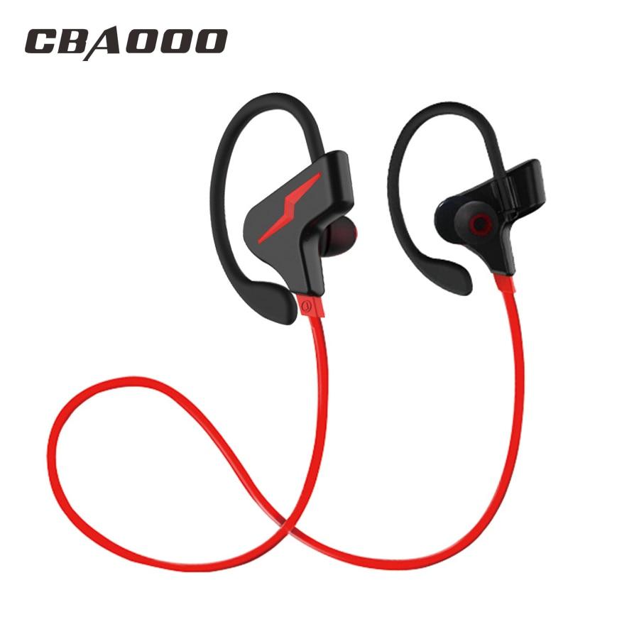 CBAOOO Wireless Bluetooth Earphones Headphone Sport Running Headset Stereo Blutooth Earbuds Handsfree With Mic fone de ouvido