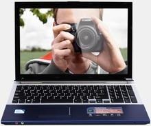 4GB RAM+500GB HDD 15.6″Intel Core i7 Laptop Notebook PC Large Notebook PC DVD Metal Case AZERTY Italian Spanish Russian Keyboard