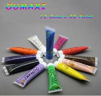 12 Colors 3D Nail Polish Uv Gel Arcylic Paint For Nails Abstract Tube Pigment Draw Art