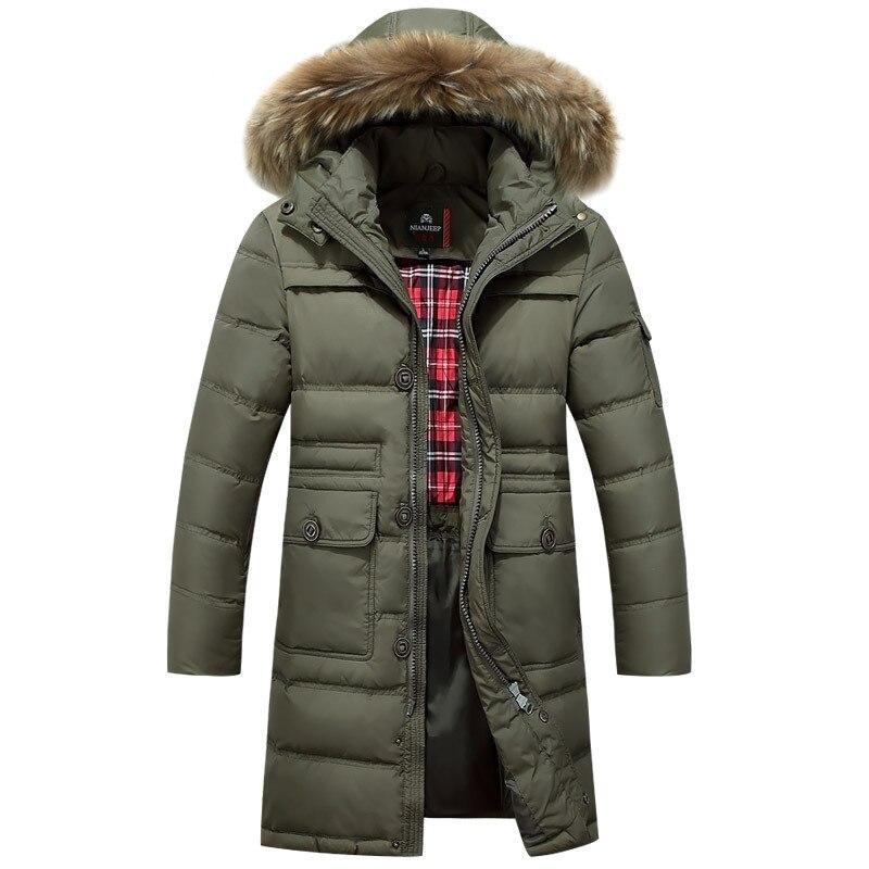 winter green mens 90 duck down winter jacket thick warm. Black Bedroom Furniture Sets. Home Design Ideas