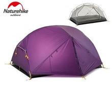 Naturehike Mongar 3 Season Camping Tent 20D Nylon Fabic Double Layers Rainproof Outdoor Ultralight