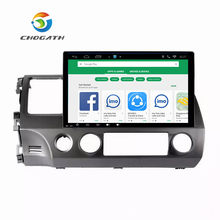 "Chogath 10.2 ""Android 7.0 Car GPS Player Navi untuk Honda Civic 2006-2011 dengan RAM 1/2G Quad Core Stereo Multimedia HDMI Tanpa DVD(China)"